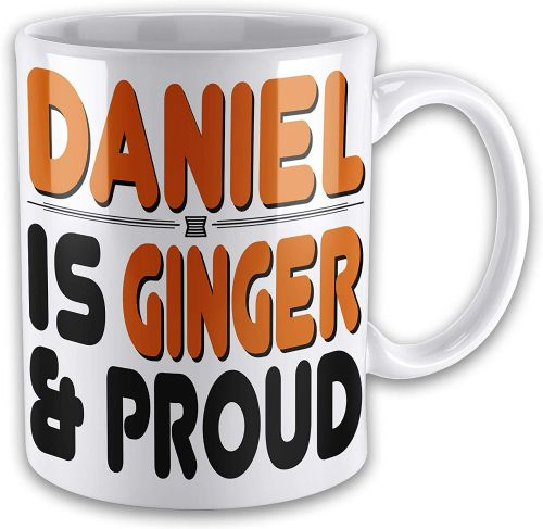 15oz Personalised Ginger & Proud Funny Novelty Gift Mug
